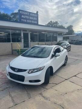 2013 Honda Civic for sale at Right Away Auto Sales in Colorado Springs CO