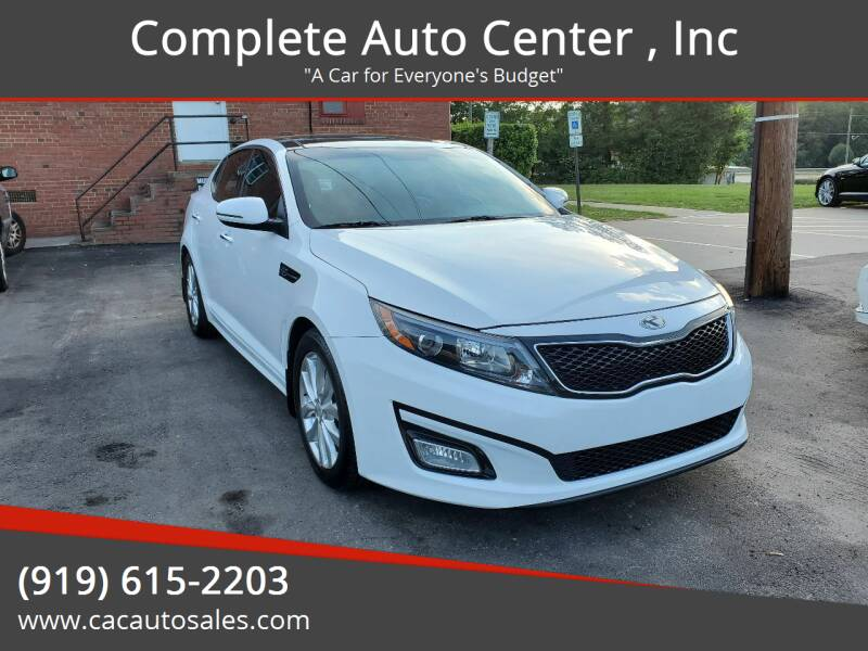 2015 Kia Optima for sale at Complete Auto Center , Inc in Raleigh NC