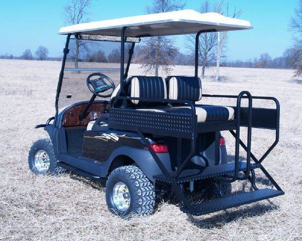 M&M 3-n-1 Rear Seat, BPC Precedent for sale at Jim's Golf Cars & Utility Vehicles - Accessories in Reedsville WI