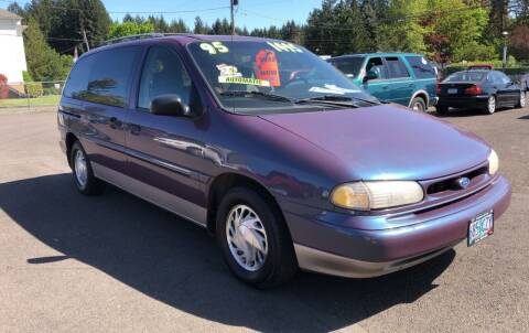 1995 Ford Windstar for sale at Freeborn Motors in Lafayette, OR