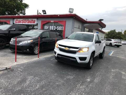 2016 Chevrolet Colorado for sale at CARSTRADA in Hollywood FL