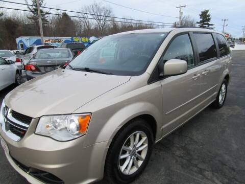 2014 Dodge Grand Caravan for sale at Route 12 Auto Sales in Leominster MA