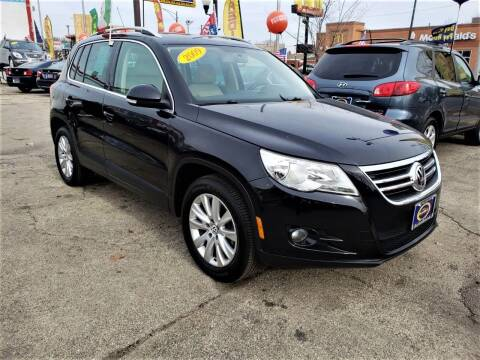 2009 Volkswagen Tiguan for sale at AutoBank in Chicago IL