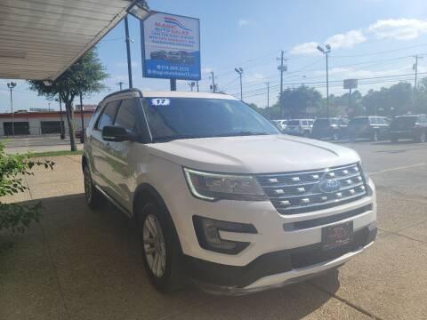 2017 Ford Explorer for sale at Magic Auto Sales in Dallas TX