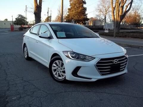 2018 Hyundai Elantra for sale at CORTEZ AUTO SALES INC in Marietta GA