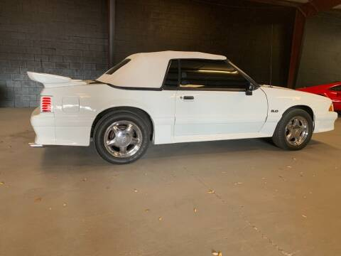 1991 Ford Mustang for sale at American Classic Car Sales in Sarasota FL