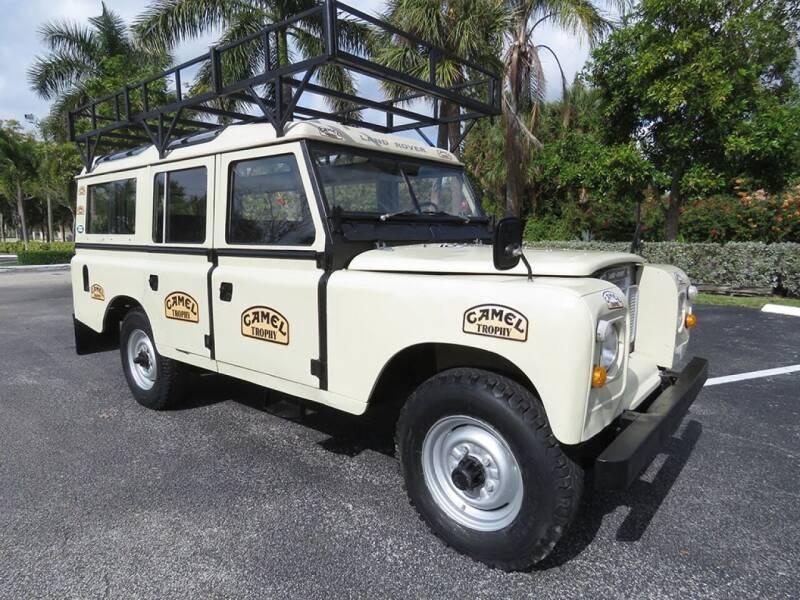 1981 Land Rover Defender for sale at Progressive Motors in Pompano Beach FL