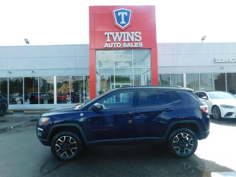 2021 Jeep Compass for sale at Twins Auto Sales Inc Redford 1 in Redford MI