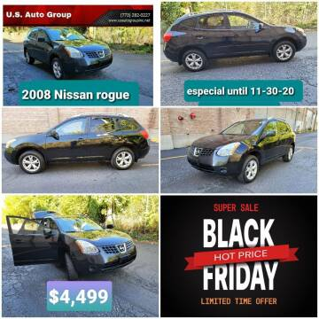 2008 Nissan Rogue for sale at U.S. Auto Group in Chicago IL