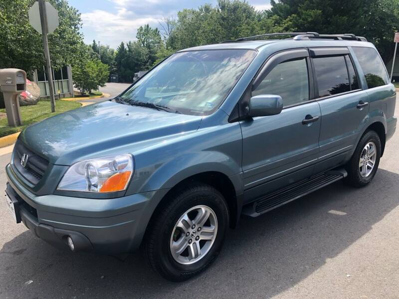 2005 Honda Pilot for sale at Dreams Auto Group LLC in Sterling VA