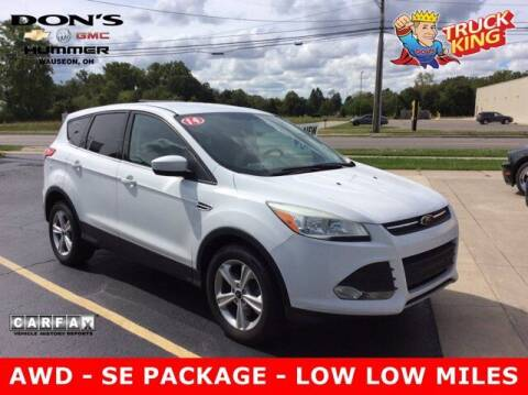 2014 Ford Escape for sale at DON'S CHEVY, BUICK-GMC & CADILLAC in Wauseon OH