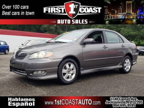 2007 Toyota Corolla for sale at 1st Coast Auto -Cassat Avenue in Jacksonville FL