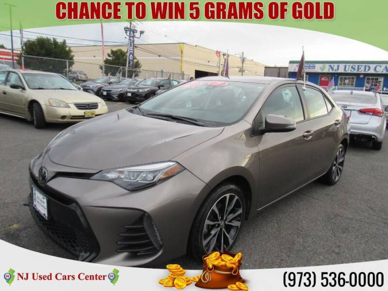 2019 Toyota Corolla for sale at New Jersey Used Cars Center in Irvington NJ