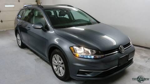 2019 Volkswagen Golf SportWagen for sale at World Auto Net in Cuyahoga Falls OH