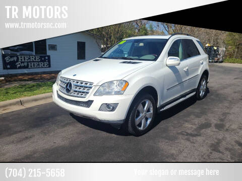 2010 Mercedes-Benz M-Class for sale at TR MOTORS in Gastonia NC