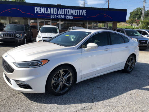 2017 Ford Fusion for sale at Penland Automotive Group in Laurens SC