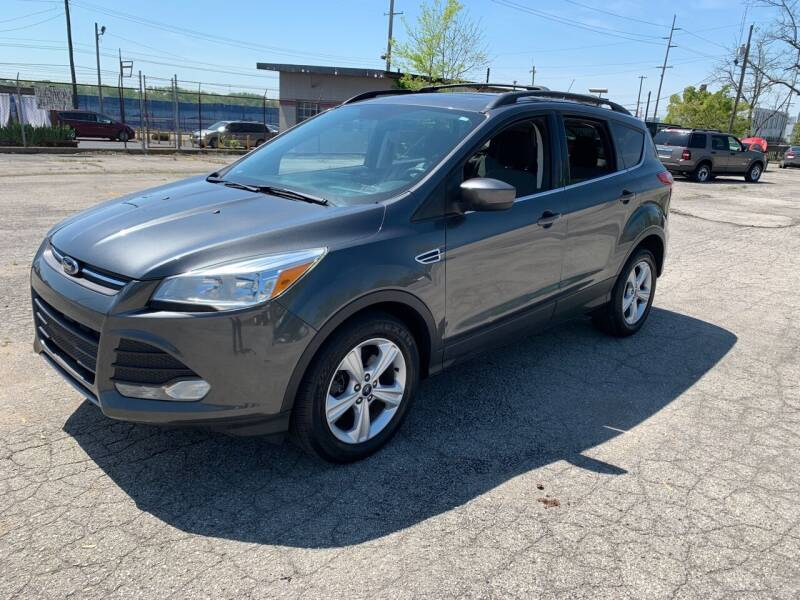 2015 Ford Escape for sale at Eddie's Auto Sales in Jeffersonville IN