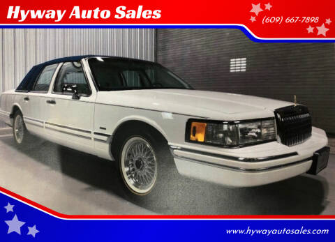 1994 Lincoln Town Car for sale at Hyway Auto Sales in Lumberton NJ
