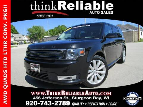 2013 Ford Flex for sale at RELIABLE AUTOMOBILE SALES, INC in Sturgeon Bay WI