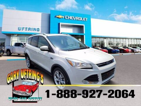 2015 Ford Escape for sale at Gary Uftring's Used Car Outlet in Washington IL