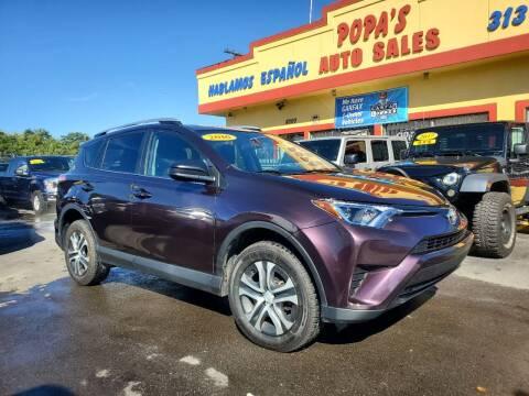 2016 Toyota RAV4 for sale at Popas Auto Sales in Detroit MI