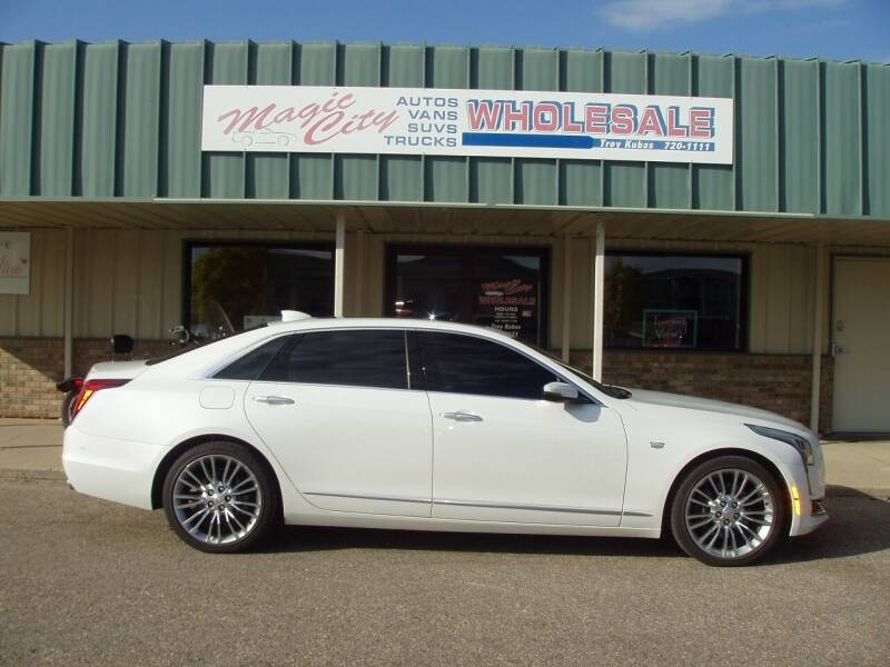 2017 Cadillac CT6 for sale at Magic City Wholesale in Minot ND