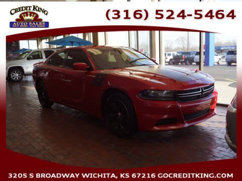 2016 Dodge Charger for sale at Credit King Auto Sales in Wichita KS