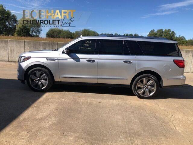 2018 Lincoln Navigator L for sale at BOB HART CHEVROLET in Vinita OK