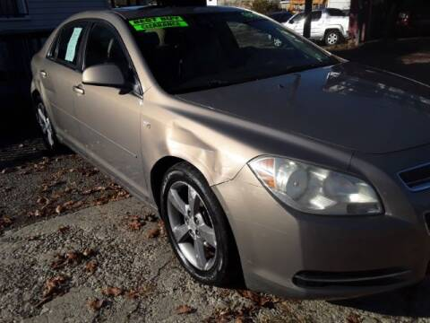 "2008 Chevrolet Malibu for sale at MIDWESTERN AUTO SALES        ""The Used Car Center"" in Middletown OH"