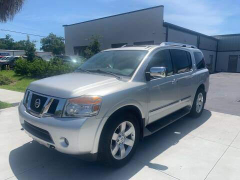 2011 Nissan Armada for sale at Bay City Autosales in Tampa FL