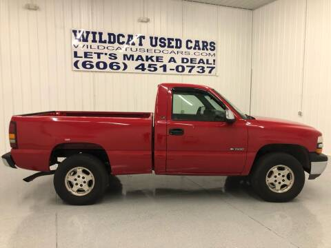 2001 Chevrolet Silverado 1500 for sale at Wildcat Used Cars in Somerset KY