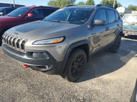 2016 Jeep Cherokee for sale at Paris Auto Sales & Service in Big Rapids MI