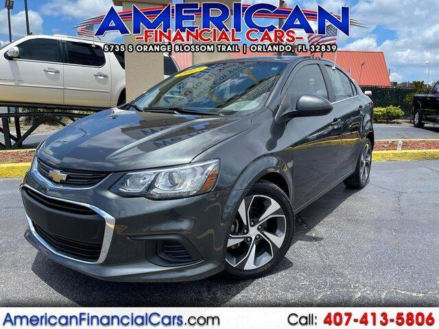 2017 Chevrolet Sonic for sale at American Financial Cars in Orlando FL