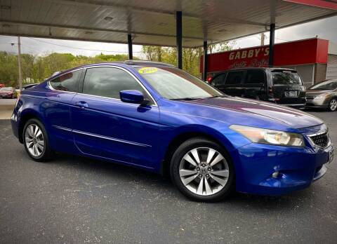 2009 Honda Accord for sale at GABBY'S AUTO SALES in Valparaiso IN