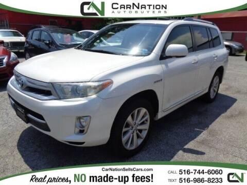 2013 Toyota Highlander Hybrid for sale at CarNation AUTOBUYERS Inc. in Rockville Centre NY