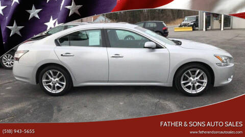 2014 Nissan Maxima for sale at Father & Sons Auto Sales in Leeds NY