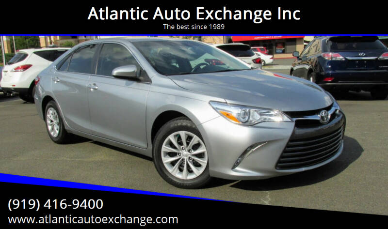 2017 Toyota Camry for sale at Atlantic Auto Exchange Inc in Durham NC