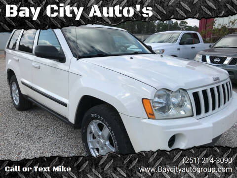 2007 Jeep Grand Cherokee for sale at Bay City Auto's in Mobile AL