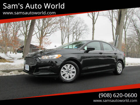 2013 Ford Fusion for sale at Sam's Auto World in Roselle NJ