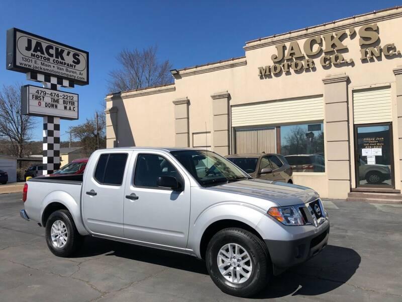 2019 Nissan Frontier for sale at JACK'S MOTOR COMPANY in Van Buren AR