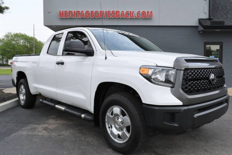2019 Toyota Tundra for sale at Heritage Automotive Sales in Columbus in Columbus IN