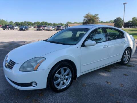 2005 Nissan Maxima for sale at COUNTRYSIDE AUTO SALES 2 in Russellville KY