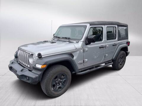 2018 Jeep Wrangler Unlimited for sale at Fitzgerald Cadillac & Chevrolet in Frederick MD