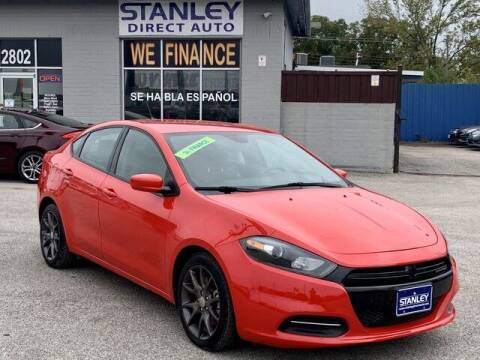 2016 Dodge Dart for sale at Stanley Direct Auto in Mesquite TX