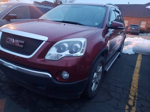2008 GMC Acadia for sale at Cj king of car loans/JJ's Best Auto Sales in Troy MI