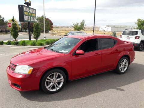 2013 Dodge Avenger for sale at More-Skinny Used Cars in Pueblo CO