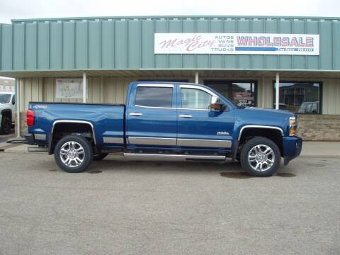 2016 Chevrolet Silverado 2500HD for sale at Magic City Wholesale in Minot ND