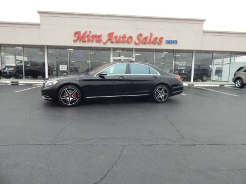 2015 Mercedes-Benz S-Class for sale at Mira Auto Sales in Dayton OH
