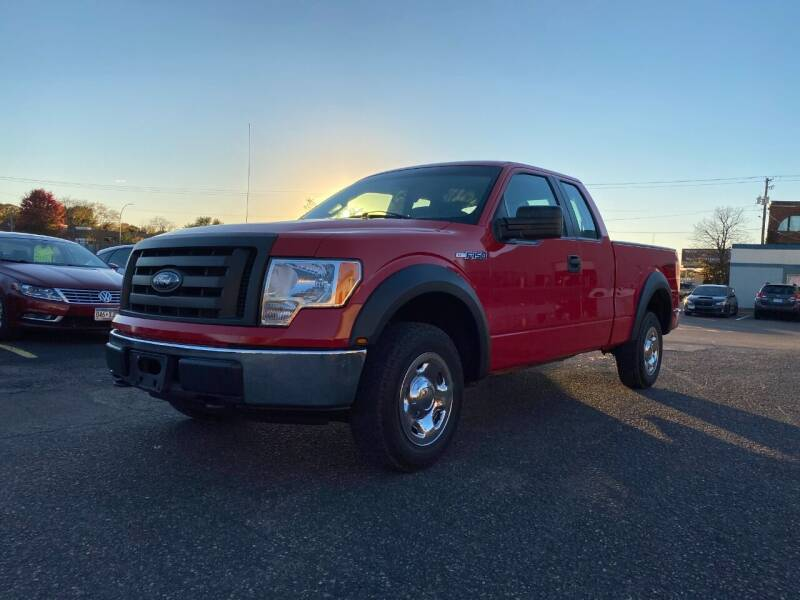 2009 Ford F-150 for sale at Auto Tech Car Sales and Leasing in Saint Paul MN