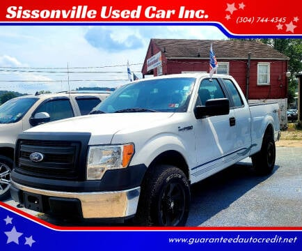 2013 Ford F-150 for sale at Sissonville Used Car Inc. in South Charleston WV